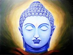 Buy Enlightenment Buddha Handmade Painting by SHEKHAR BALAIAH. Code:ART_1815_16634 - Paintings for Sale online in India.