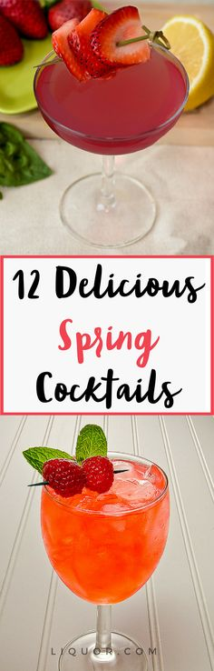 Trust us you need to know how to make these #Spring #cocktails