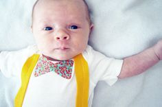 Newborn Boy Outfit Aqua & Red Bow Tie and by wildjuniperbaby, $19.00
