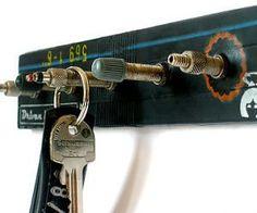 Bicycle Valve Key Holder; something else I could do from the back yard!