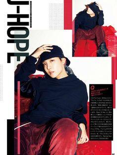 """[] @BTS_twt #JHOPE para el magazine japonés """"JELLY"""" Cr. c0c0nuts2"""