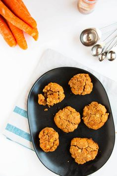 Healthy Cinnamon Carrot Cookies