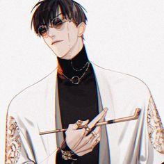 Manhwa Manga, Manga Anime, 19 Days Characters, Death Note Cosplay, Fall Anime, Stray Dogs Anime, Anime Poses, True Art, Handsome Anime