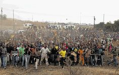 Lonmin strikers protest - Times LIVE