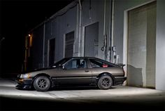 Let's see, a AE86 Levin, brown color and it's running on some wide RS Watanabe's. Yep I guess this will get the approval of Antonio. All of a sudden I'm starting to get a real interest in cars from the '80's. I have have been looking at some nice BMW E30's as a project car. …