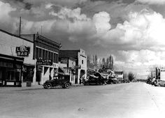 Main St. Yerrington 1930's