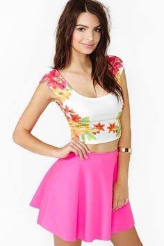 Tropic Rush Crop Top