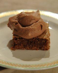 Milk Chocolate Cake with Nutella Whipped Cream Recipe