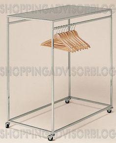Bulk basket son exhibidores met licos donde se exponen los for Ganchos metalicos para percheros