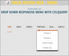 20 Responsive Menu Tutorials with Free Scripts