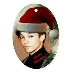One Direction Christmas Ornament