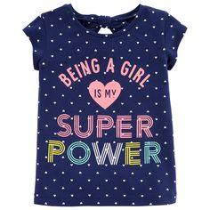 5281d0dec Carter s Graphic T-Shirt-Preschool Girls Camisetas De Rayas