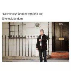 Sherlock Fandom in one picture