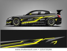 Car wrap design vector, truck and cargo van decal. Graphic abstract stripe racing background designs for vehicle, rally, race, adventure and car racing livery. Car Stickers, Car Decals, Bmw M4, Sport Cars, Race Cars, Car Wrap Design, Vehicle Signage, Car Audio Installation, Rolling Car