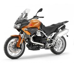 2012 Moto Guzzi Stelvio 1200 8V - And here's what we're riding this year ...a different colour though