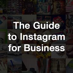 The Guide to Instagram for Business The Guide to Instagram for Business is an in-depth tutorial on how Instagram works and how brands (including yours) can integrate it in their social marketing mix to increase their online reach and attract new business. In it youâll find all the basics on getting started with Instagram as well as recommendations on advanced campaigns that provide a meaningful experience for your Instagram community.