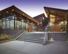 Modern Design. Ocean Education Center: Ocean Institute. Dana Point, CA. Bauer and Wiley Architects.