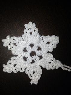 Gwiazdka. Crochet snowflake.