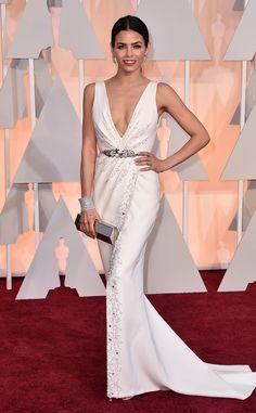2015 #Oscars: Red Carpet Arrivals Jenna Dewan