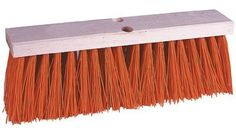 """Weiler® - Street Brooms 18""""Synth Street Sweep Orange - Sold as 6 Each by Weiler Products. $121.03. Weiler® - Street Brooms 18""""Synth Street Sweep Orange - Sold as 6 EachHeavy Duty wet or dry sweeping on streets, parking lots, loading docks, driveways. Wide flare ends for sweeping close to curb and walls. Save 24%!"""