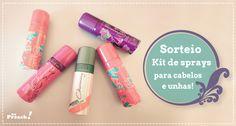 Kit sprays Cless Cosmeticos - travel size - miniaturas - maquiagem, cabelo, unhas