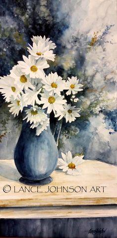Lance Johnson watercolour
