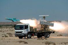 Firing Nasr-1 Missile from a truck launcher.jpg