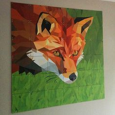 IXXI wall decoration made with a fox graphic by one of our customers. Create your own, prices from $44.75 #ixxi #ixxidesign
