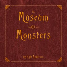 The Museum of Monsters: awesome book! I bought it at the Museum of Comic and Cartoon Art festival in New York.