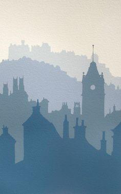 Edinburgh Morning by Ian Scott Massie