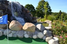 Courtesy of HF Photography Waterfall, Golf, Patio, Mini, Outdoor Decor, Photography, Photograph, Fotografie, Waterfalls