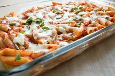 3-cheese penne