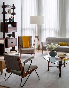 Mid century Interiors by Damon Liss
