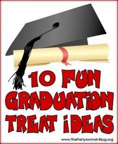 10 Fun Graduation Treat Ideas
