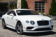 2016 Bentley Continental GT Speed Coupe Automatic Twin-Turbocharged 6.0L W12 Engine White Satin - O'Gara Coach