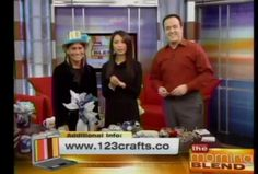 Sandy Sandler Shares New Year's Eve Crafts on the Morning Blend