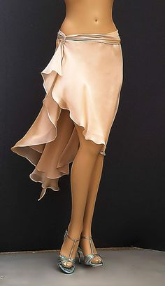 td-043 chifon tango skirt: