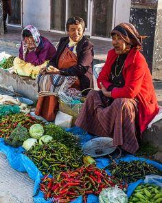 Red & Green Chilies: Photo by Photographer Steven Veit - photo.net-Bhutan