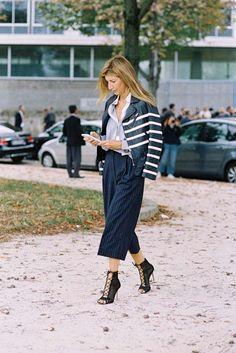 Vanessa Jackman: Paris Fashion Week SS 2017....Sarah