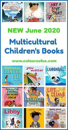 New Multicultural Children's Books June 2020