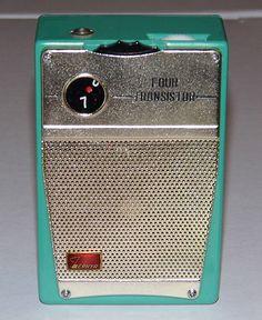 Vintage Zephyr 4-Transistor Radio, Model 5T6, Made in Japan