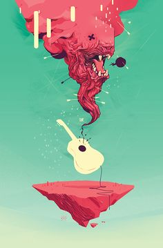 IndieRocks! on Behance