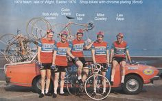 The highly successful 'Holdsworth Campagnolo Professional Team' initially used shop bikes that were built at the Putney shop by Reg Collard who turned out about three frames a week. Later the factory built Holdsworth Professional was based upon a Colnago set up with both 72/73, and 72 parallel frames, and for those that wanted one of these frames they were all built to specification. The team won many races from 1970 to I believe 1977.