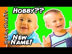 HobbyBabies Get New Names! HobbyPig Helps + Mickey Mouse T-Rex Monsters ...