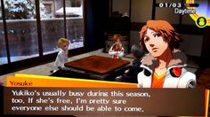 Persona 4 Golden - New Season and Triggering New Dungeon