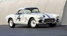 Delmo Johnson's 1962 #4 Corvette - Raced at the 1962 12 hours of Sebring where it finished 3rd in class.