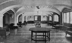 Salón de tertulia y fumador del Palacio de la Asociación de la Prensa de Madrid    Fecha:  5 de Abril de 1930
