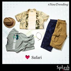 Discover the adventurous Safari collection with earthy yet edgy clothing! Treat your wardrobe to the best of styles at your nearest Splash store! #Splash #Fashion #Sale #Safari #SplashIndia