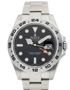 Rolex Explorer II 216570, Bracelet Material: Steel Oyster, Case Material: Steel, Case size: 42 MM, Dialtype: Black Baton, Gender: Mens, Movement: Automatic