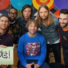 Great picture of Maroon 5  #Love #maroon5 #music #222
